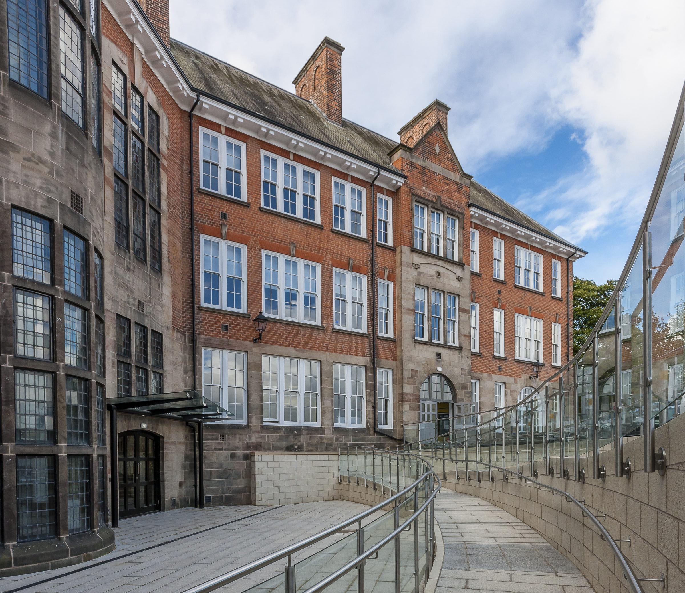 Amazon Property Bolsover Street Development - St helena campus chesterfield