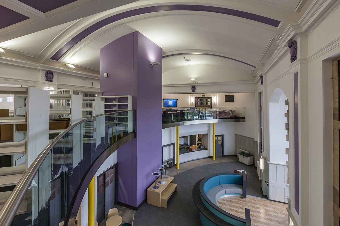 St helena campus chesterfield frank shaw associates for Office design derby