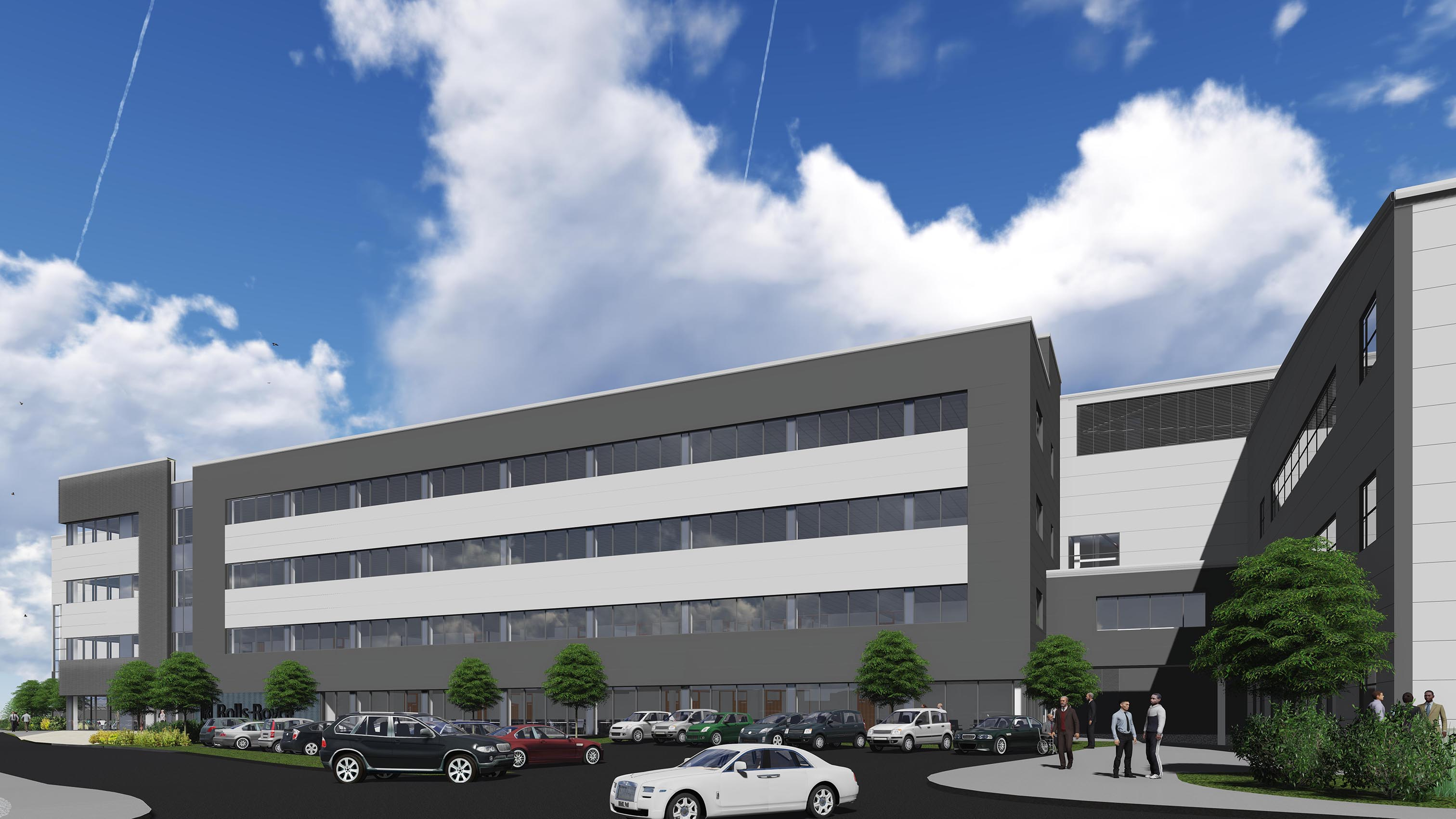 Rolls-Royce PCO Factory and Office Expansion, Derby ...